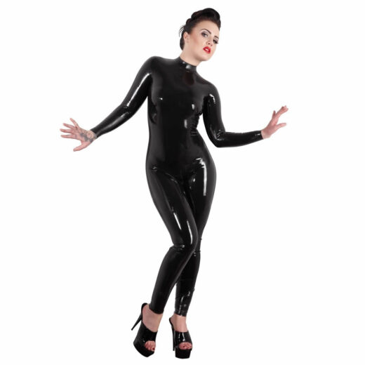 sort latex catsuit