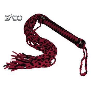 Zado 12-halet læderpisk