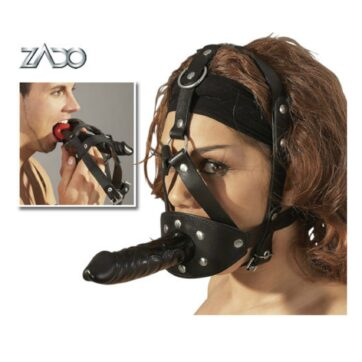 Zado hovedseletøj med gag