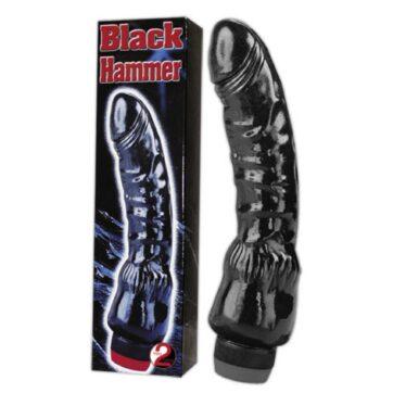 Black Hammer Dildo Vibrator