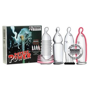 Secura Potens Power Kondomer og Penisring