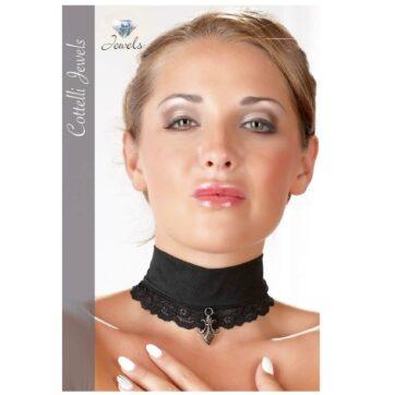 Sort Blonde Halsbånd med Vedhæng