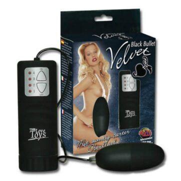 Black Velvet Vibro Bullet Vibrator