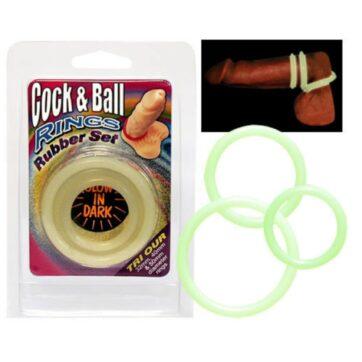 Cock & Ball Rings - Selvlysende Penisringe