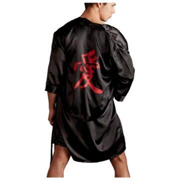 Eksotisk Herre Kimono