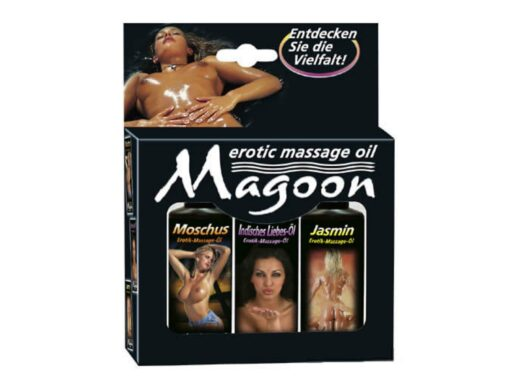 Magoon Massage pakke 3 x 50 ml Massageolie