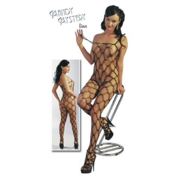 Net Catsuit i Sort