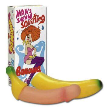 Sprøjtende Banan Dildo