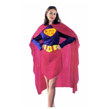 Super Hero - Superwoman Kostume