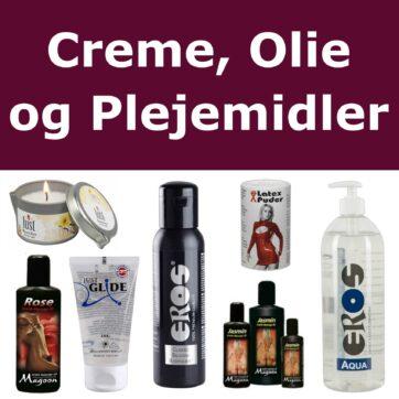 Creme, Olie og Plejemidler