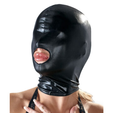 Bad Kitty Maske i Sort Wetlook
