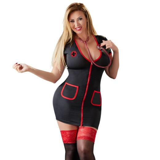 Sygeplejerske Kostume til kvinder med kurver
