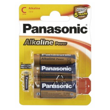 Panasonic C Alkaline Power Battrier