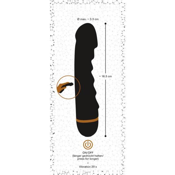 Vibrator Bendy Ripple