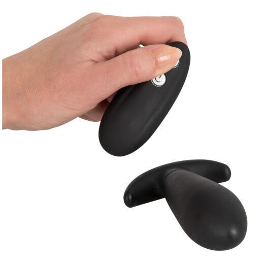 Vibrator anal plug med fjernbetjening