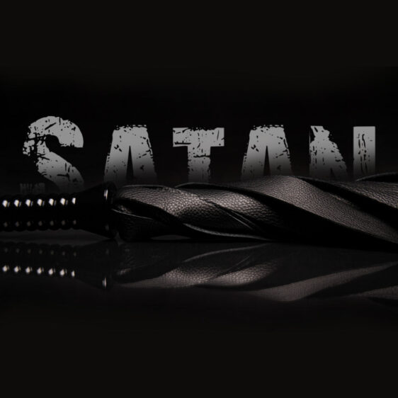 Satan flogger eksklusiv sort