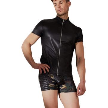 Wetlook Herre Shirt med Lynlås