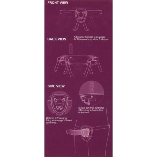 SEXXBIAN Strap-On Påspændingsvibrator