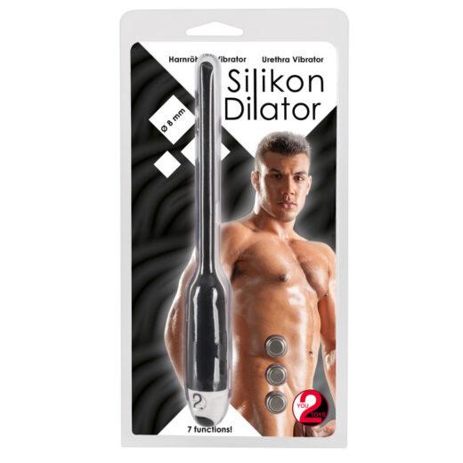 Silikone Dilator med Vibrator