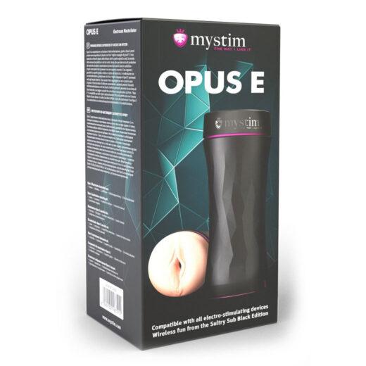 Mystim Opus E Vagina Masturbator til Elektrosex & Pirrestrøm
