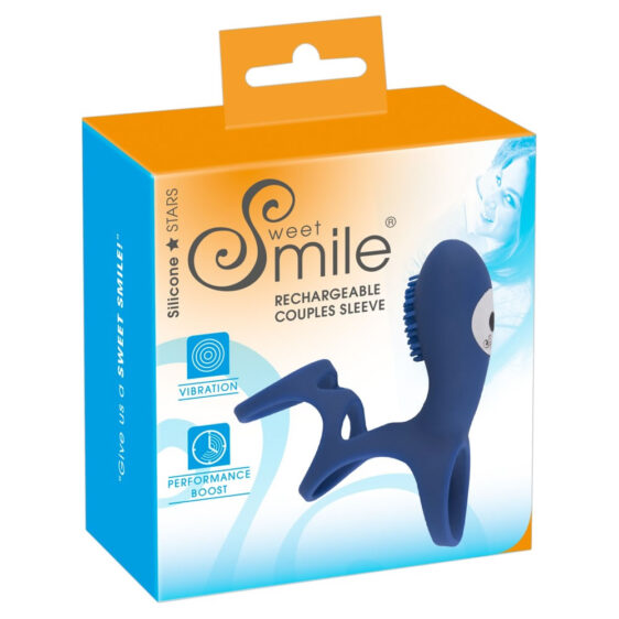 Sweet Smile Par Sleeve med Vibrator