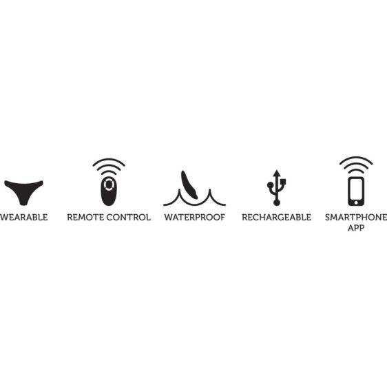 We-Vibe Moxie Trusse Vibrator med Fjernbetjening & App