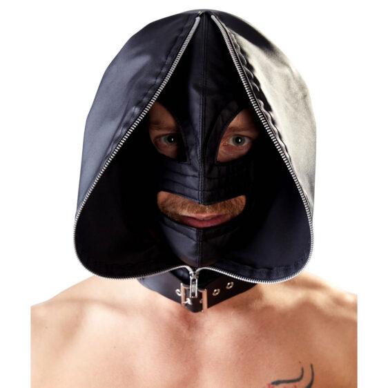 Dobbelt Maske med Hætte Look