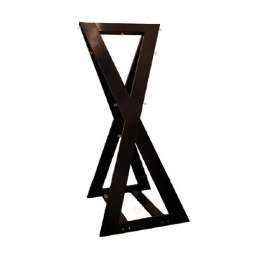 double bdsm st. andrew's cross