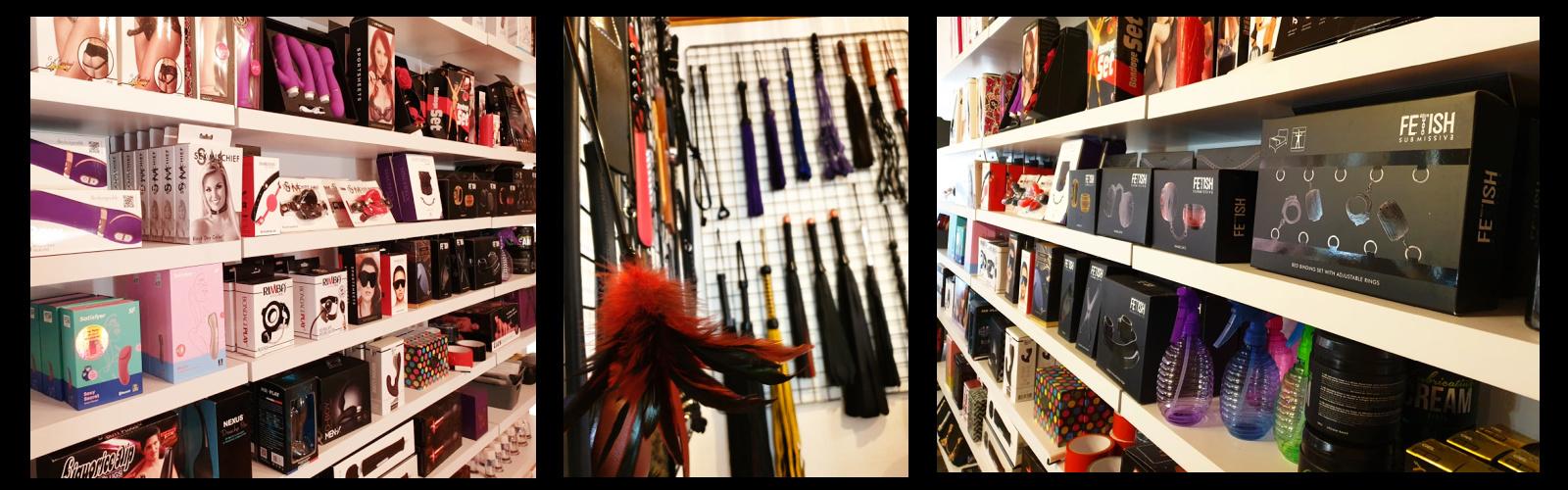 sexshop showroom i Ringsted